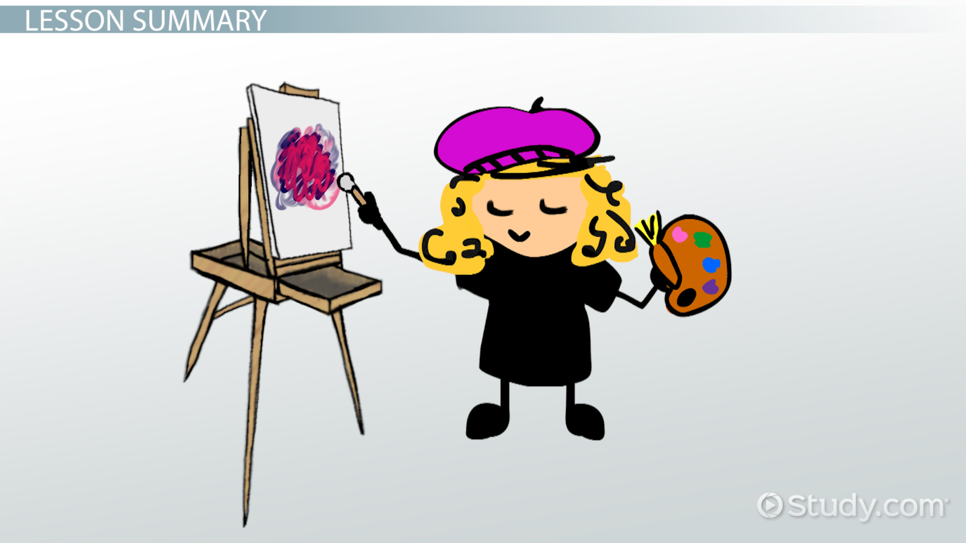 Art clipart oil painting. Comparing contemporary acrylic video