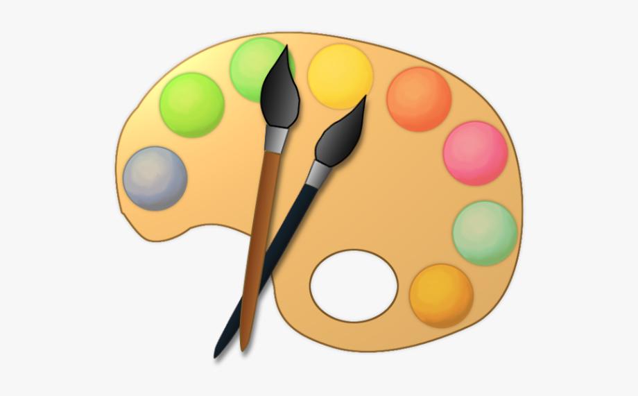 Artist clipart palette. Clip art paint kid