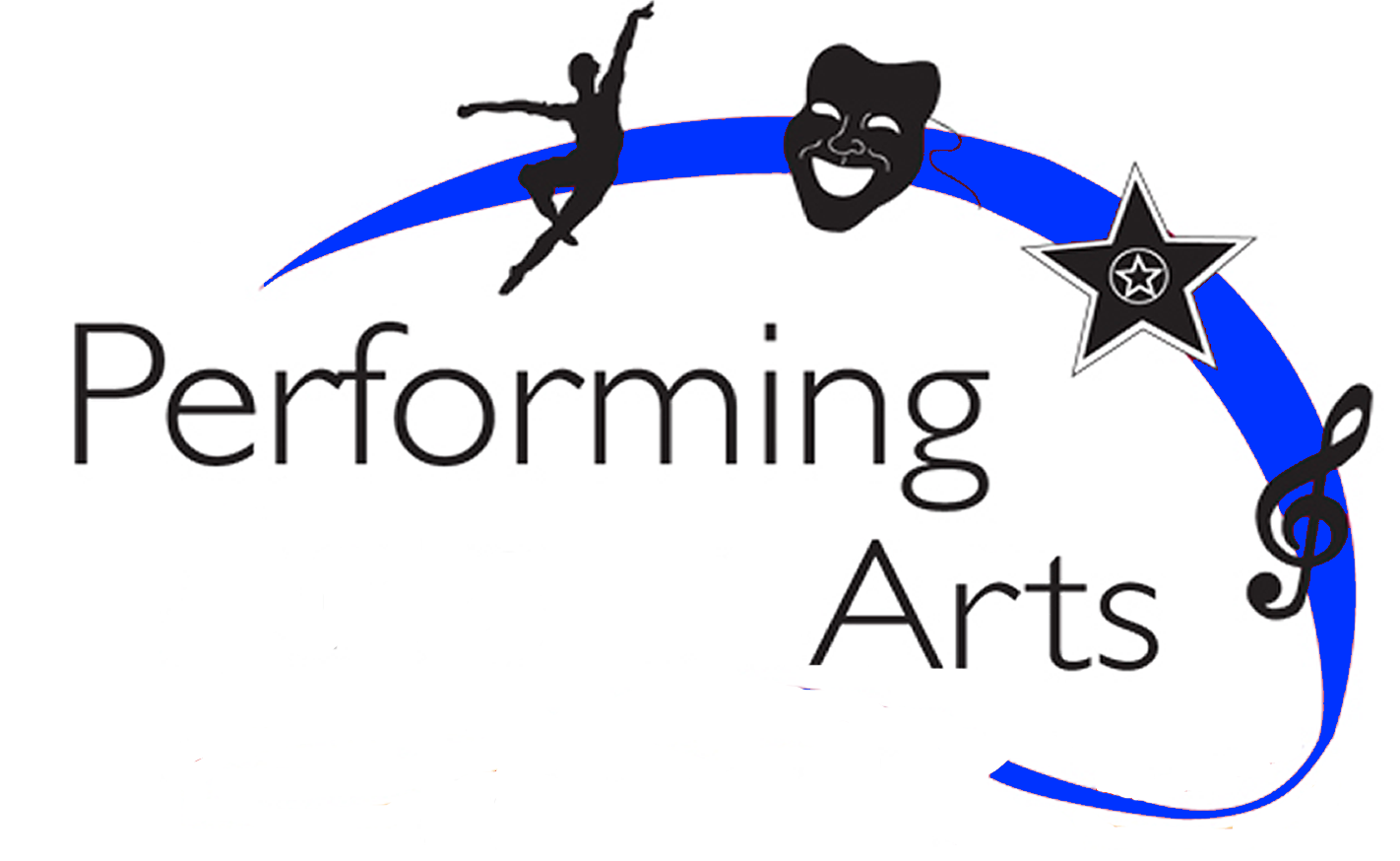 Arts drama and music. Art clipart performing art