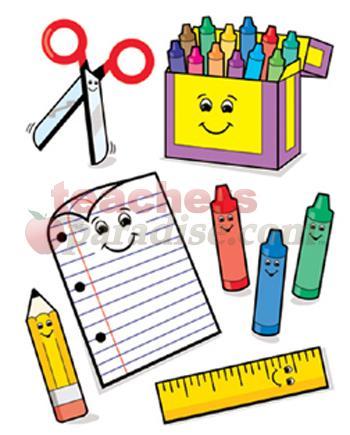 Art clipart writing material. Learning materials panda free