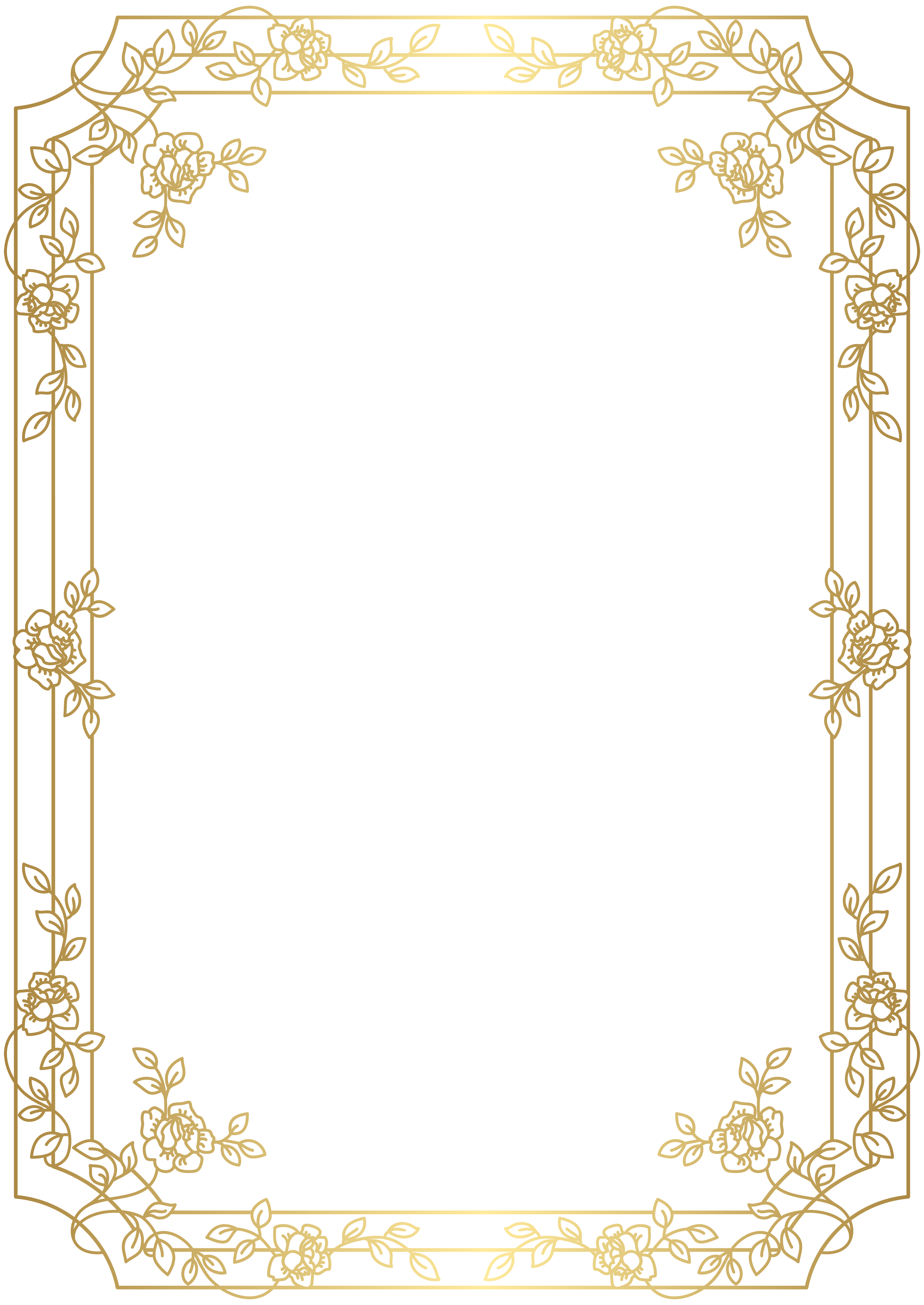 Art deco border png. Frame clip gallery yopriceville