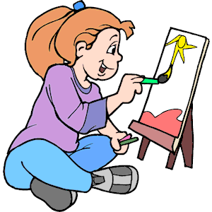 Pix for free artsy. Artist clipart