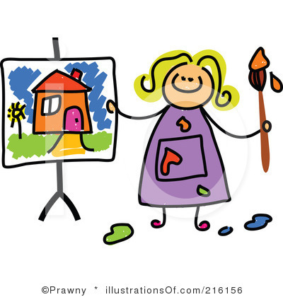 Free clip art for. Artist clipart