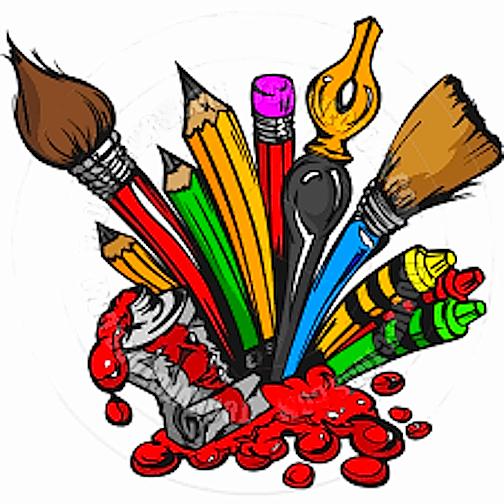 artist clipart art material