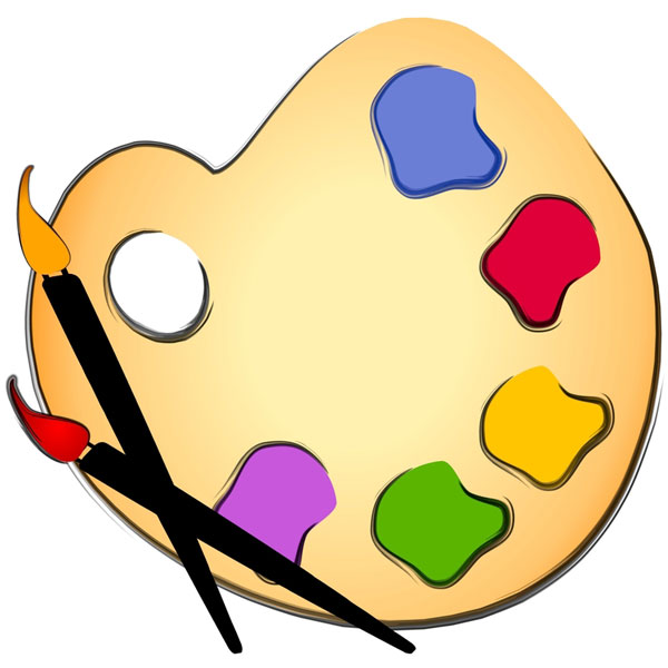 Supplies free download best. Artist clipart art material