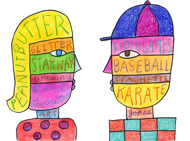 Artist clipart art project.  best class self