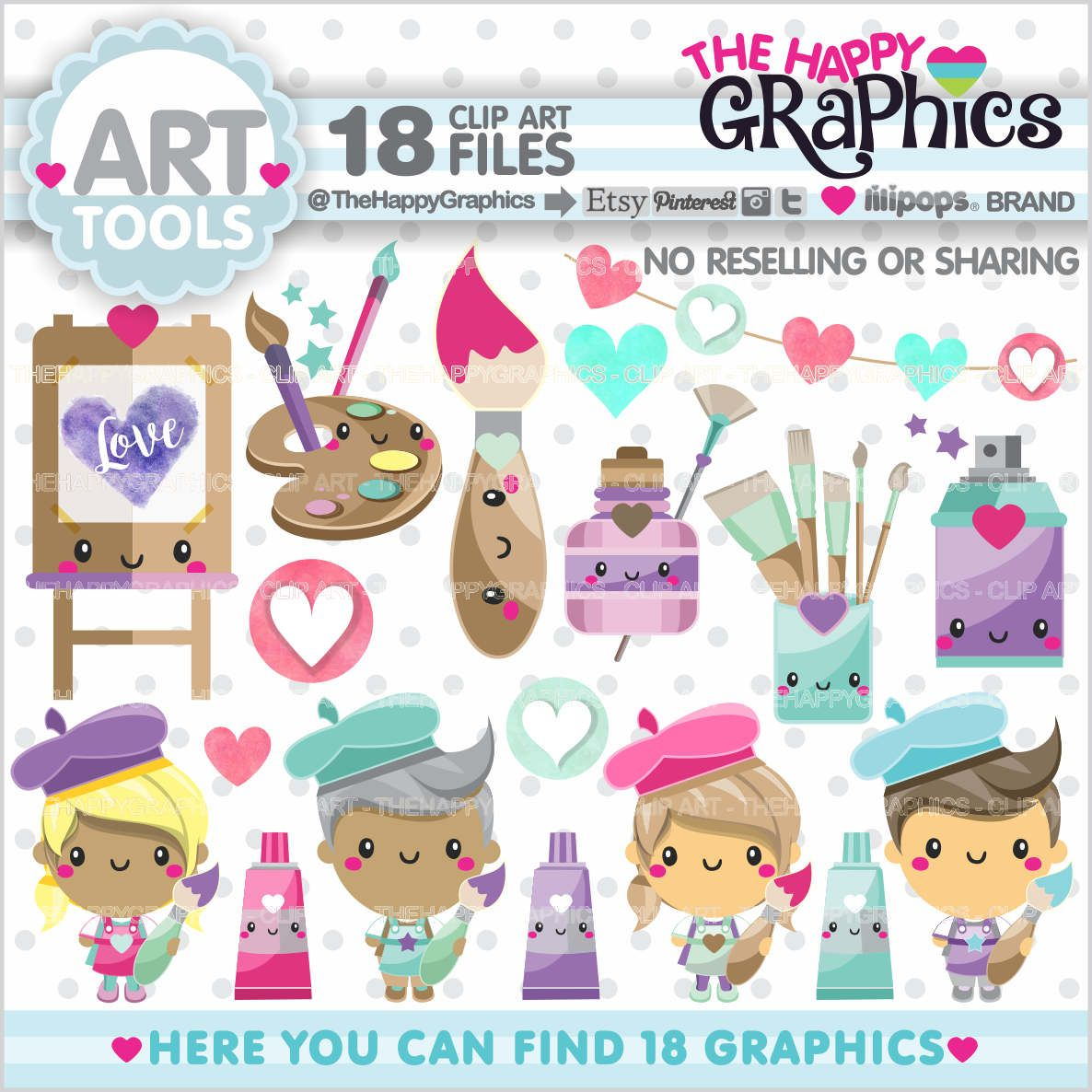 Off graphics commercial use. Artist clipart art project