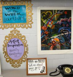 Artist clipart art room. Cassie stephens in the