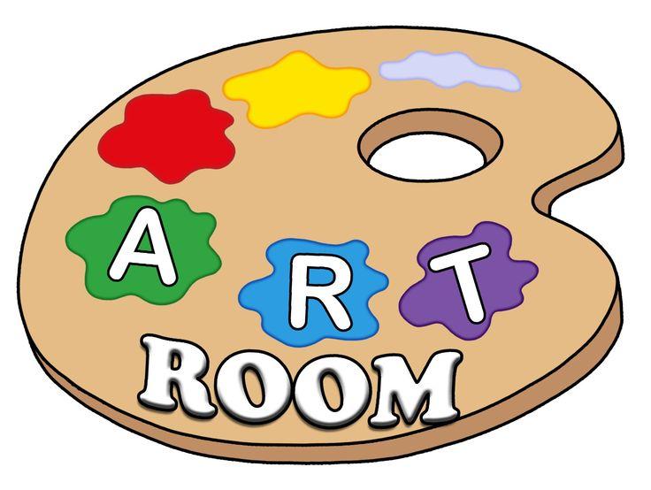 Artist clipart art room. Station