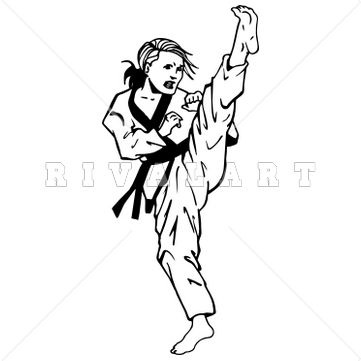 Artist clipart artistic person. Fist taekwondo pencil and
