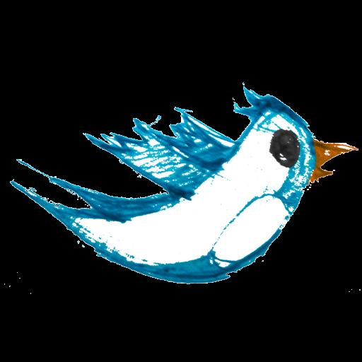 Twitter bird icon png. Artist clipart artsy