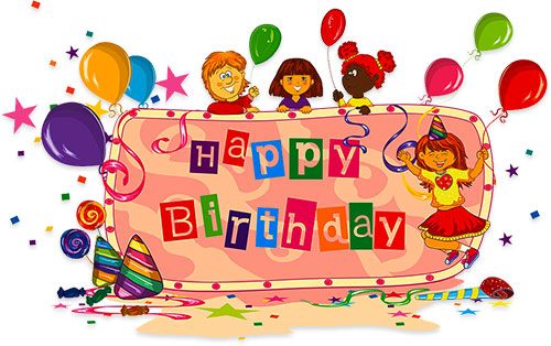 Free animations party for. Artist clipart birthday