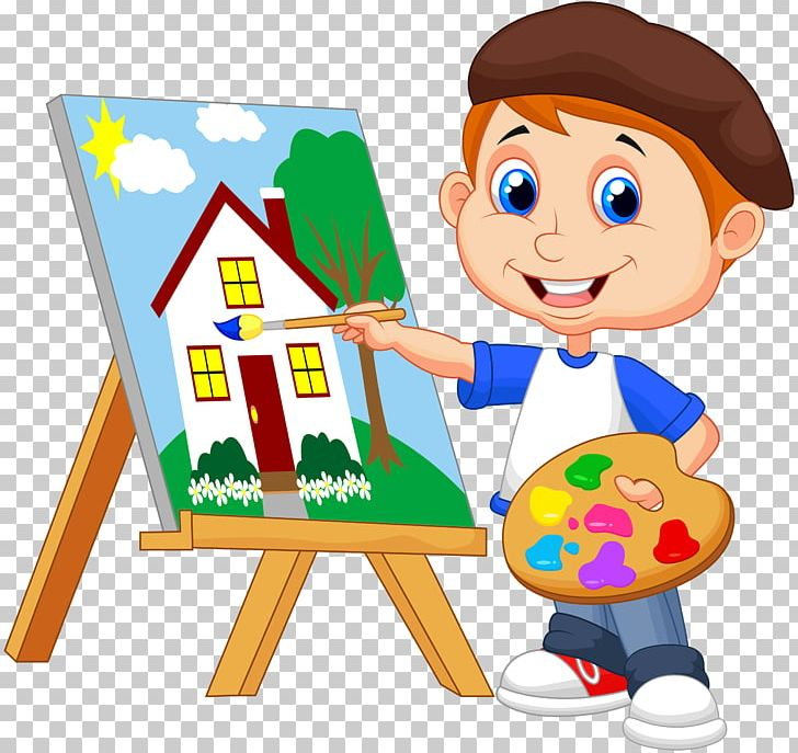 Artist clipart child artist. Painting art drawing png