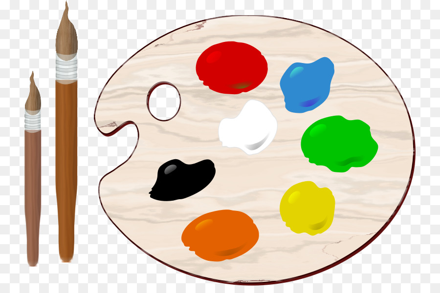 Art clipart color palette. Painting clip paint cliparts