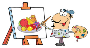 Free image painting a. Artist clipart computer