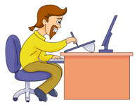 Artist clipart computer. Search results for clip