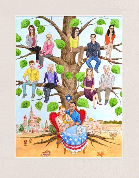 best custom family. Artist clipart creativity