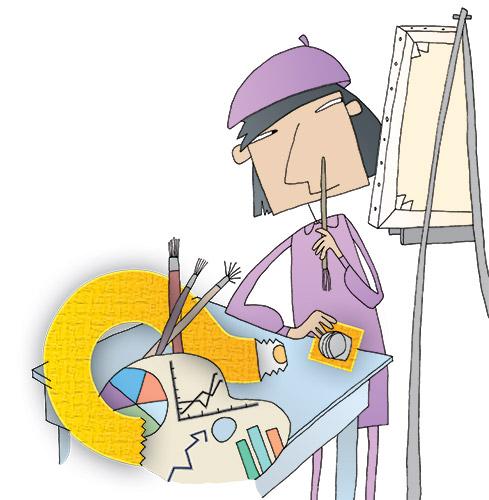 Artist clipart creativity. Can artistic thinking spark