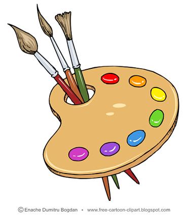 Free cartoon illustrations no. Artist clipart illustration