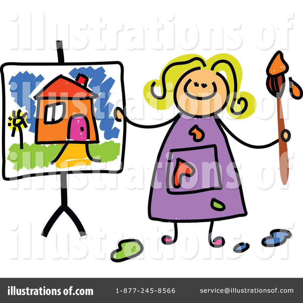 Artist clipart illustration. By prawny royaltyfree rf