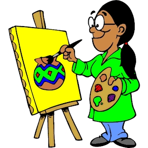 Artist clipart image clip art. Free download on