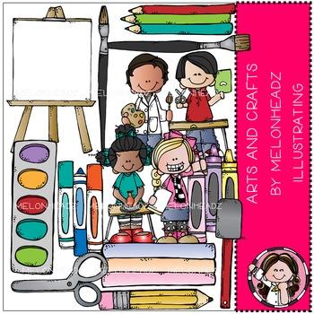 Arts and crafts clip. Artist clipart melonheadz