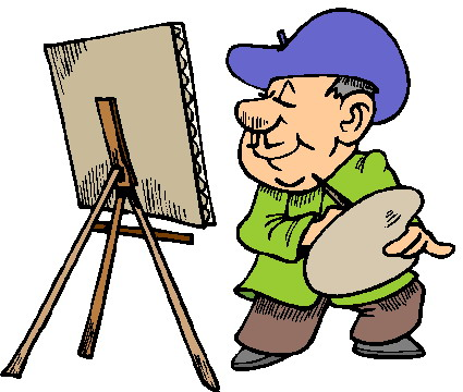 Painter clipart artisit. Free artist cliparts download