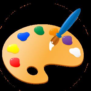 Artist clipart pallet. Paint palette free download