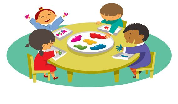 Eating School Meals Kids Clipart Free Transparent Png - Lunch Time Clipart,  Png Download - kindpng