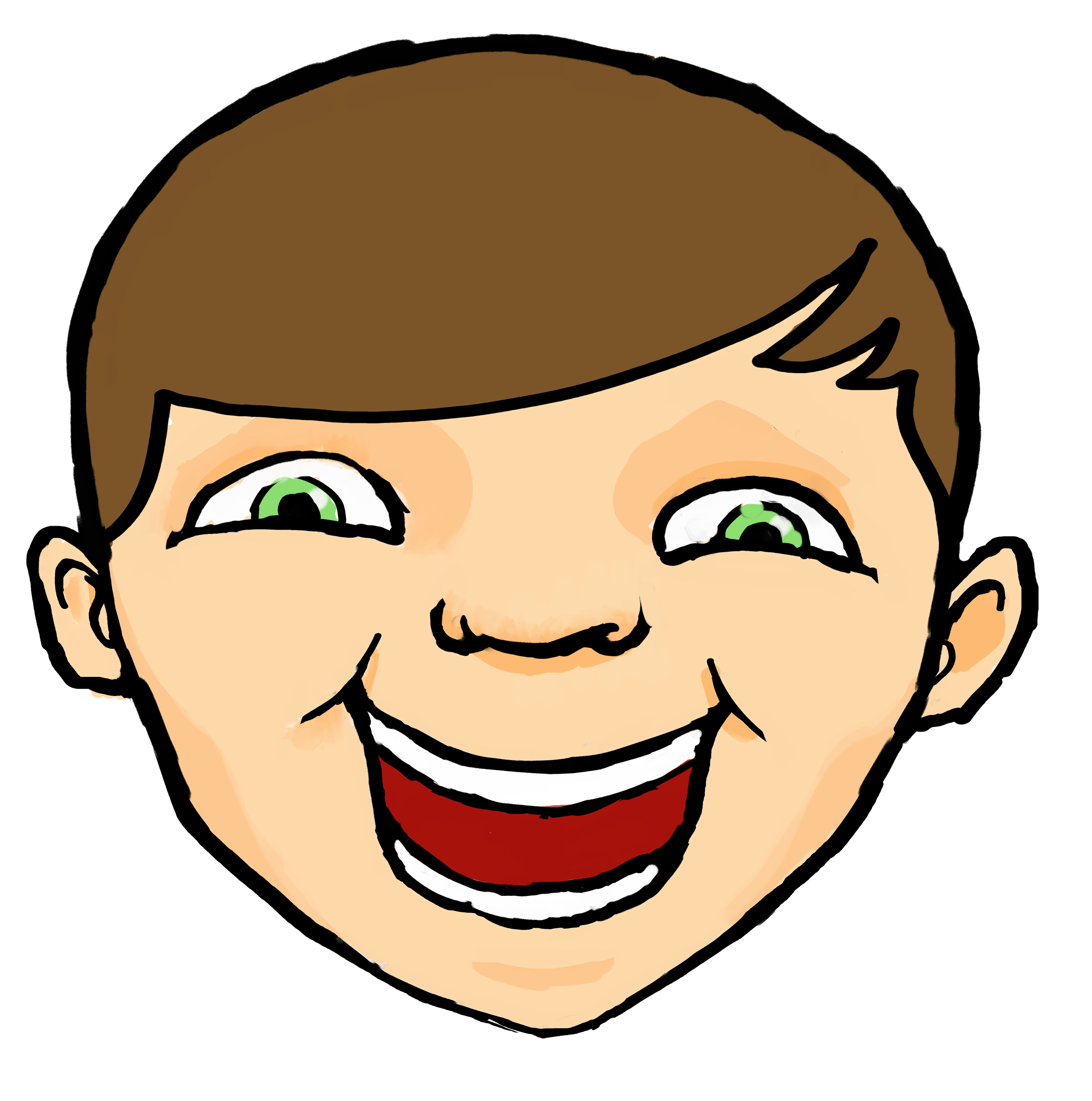 Calm clipart smiley. Free happy faces download