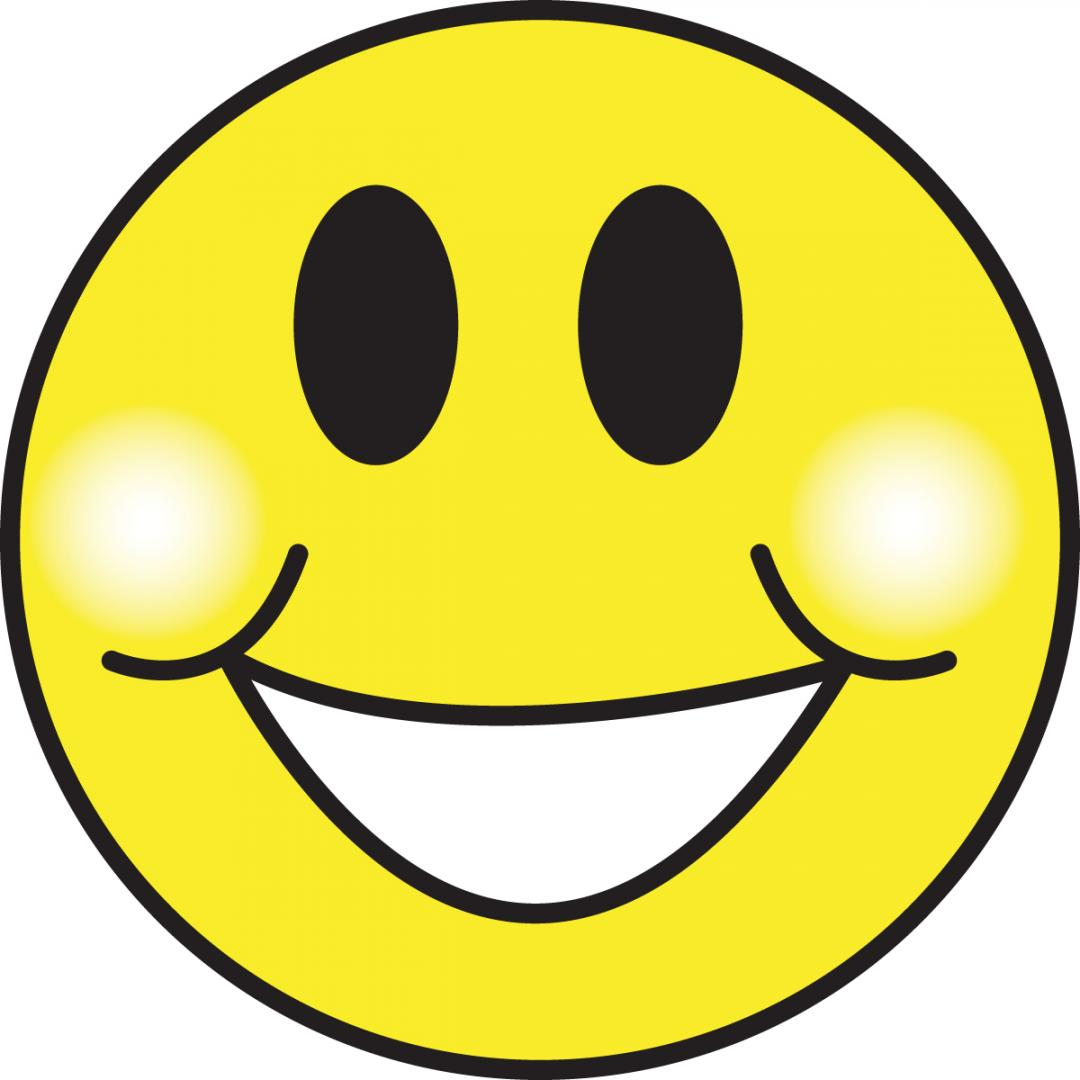 Smiley clip art emotions. Clipart smile happy face