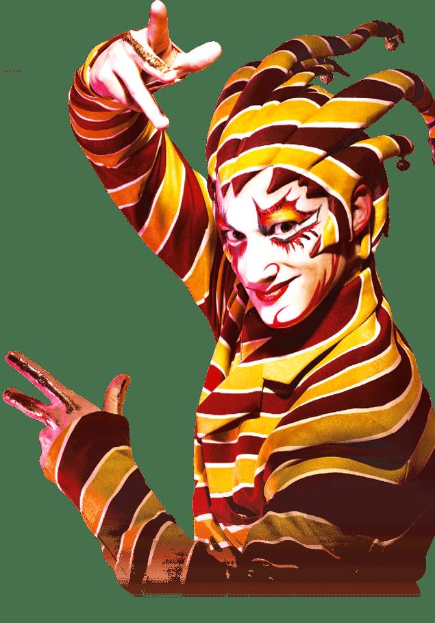 Kurios logo cirque du. Artist clipart transparent