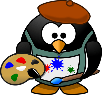 Artist clipart visual art.  of the easiest