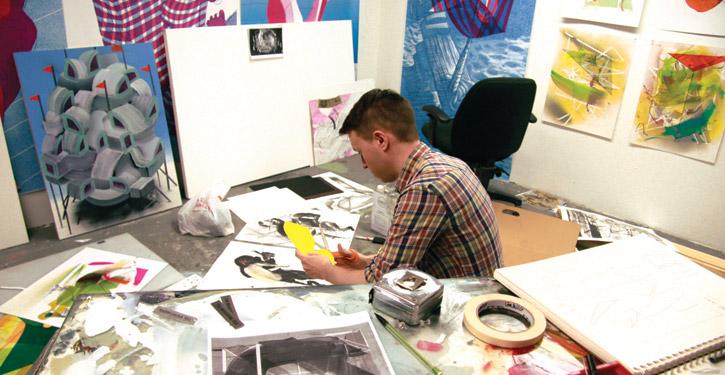 Artist clipart visual art. Painting drawing at getdrawings