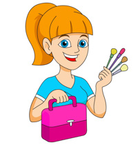 Artist clipart woman artist. Search results for beauty