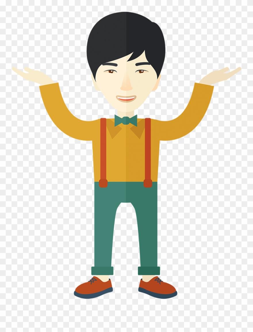 Cartoon guy pinclipart . Asian clipart