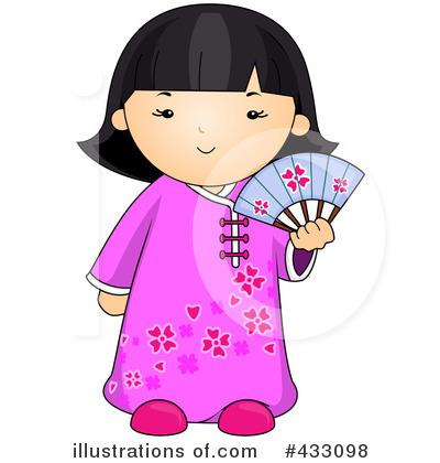 Asian clipart. Illustration by bnp design