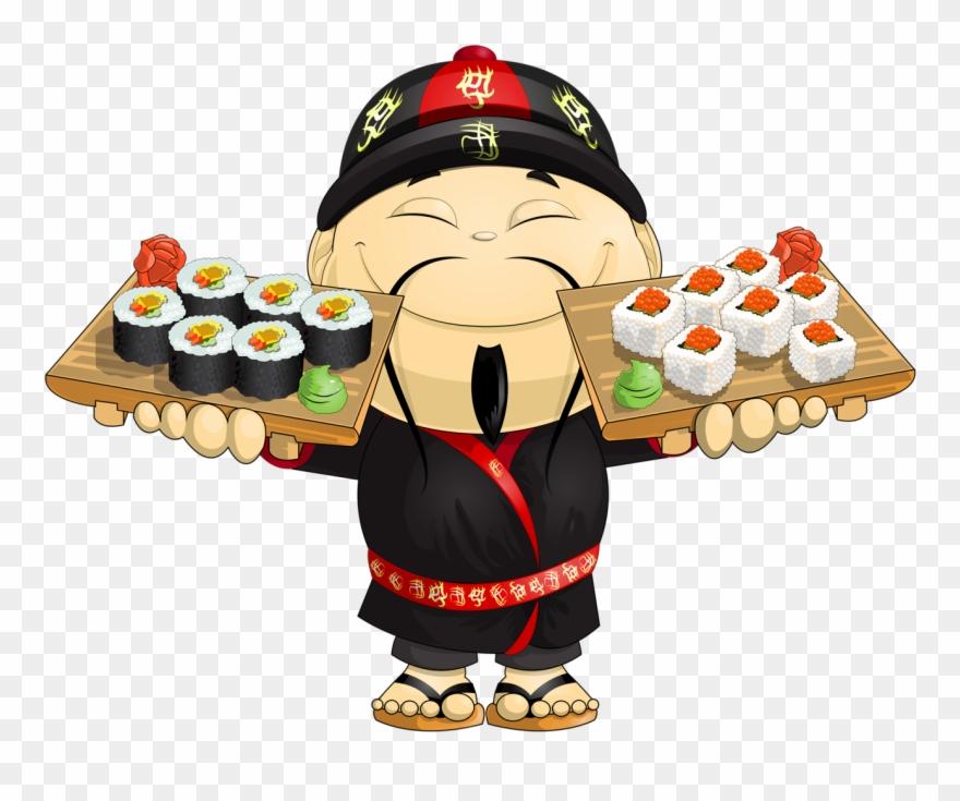 Asian clipart animation. Kokeshi chinesa japanese food
