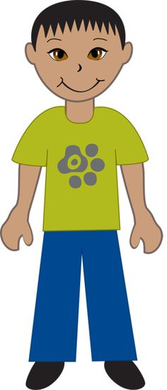 collection of boy. Asian clipart asian american