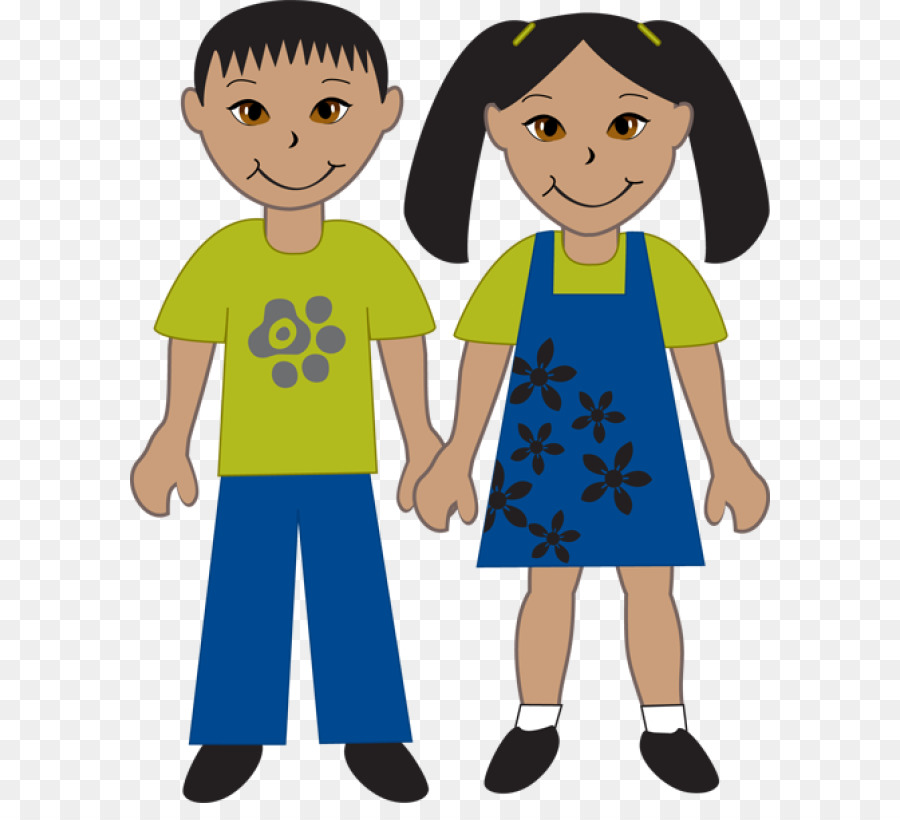 China girl boy people. Asian clipart asian child