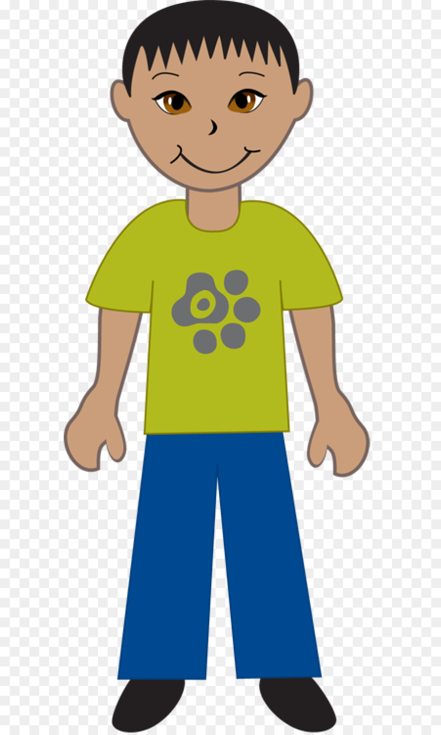 China asian child clip. People clipart boy