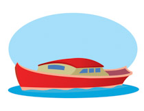 Free boats and ships. Asian clipart boat