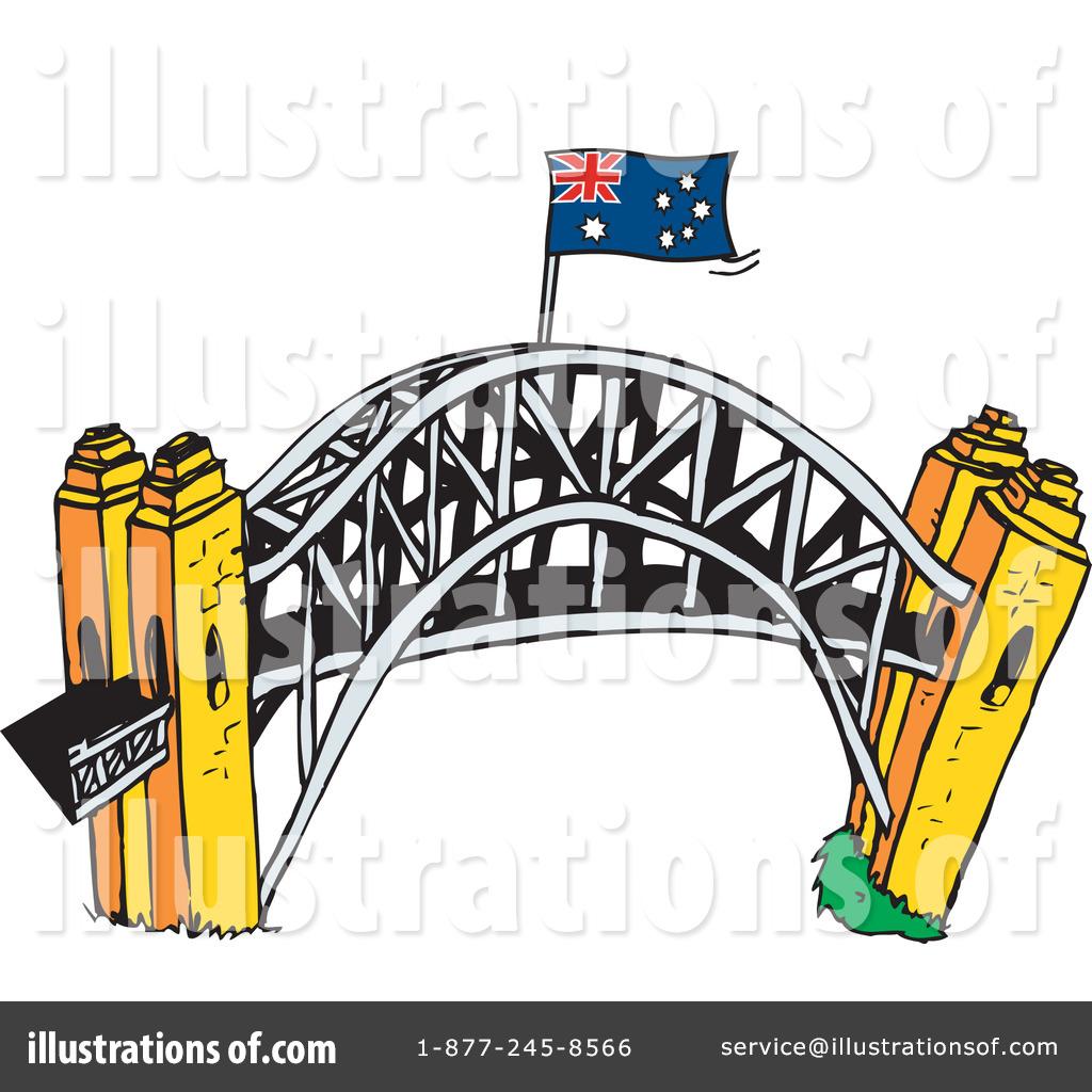 By dennis holmes designs. Bridge clipart illustration