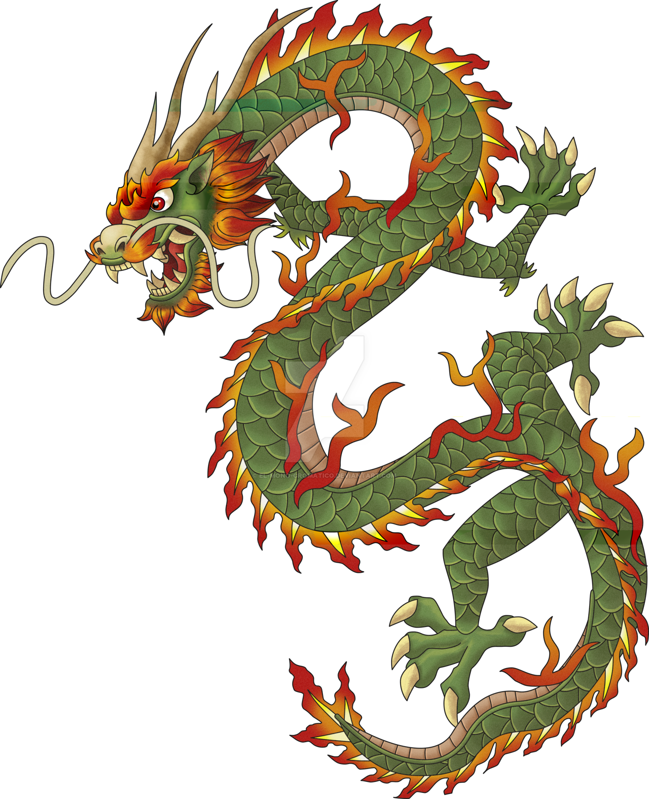 Download chinese free png. Dragon clipart golden dragon