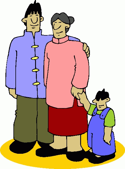 Embed codes for your. Asian clipart family member