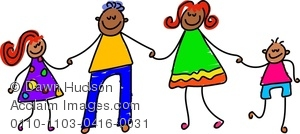 Asian clipart family member. Image of happy holding