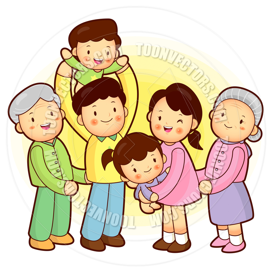 Families clipart extended family. Free download best