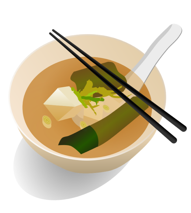 Hungry clipart food. Miso soup png