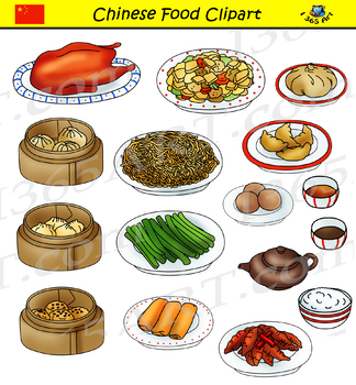 International graphics by i. Asian clipart food chinese