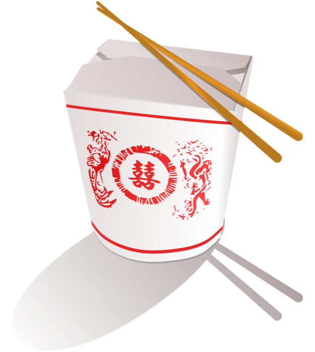 Asian food chinese take. Japanese clipart sushi chef
